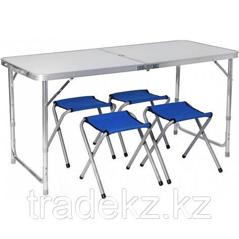 Стол складной, стулья PR-HF10471-1, набор, фото 2