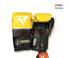 Боксерские перчатки RDX (кожа) 10 OZ, фото 3