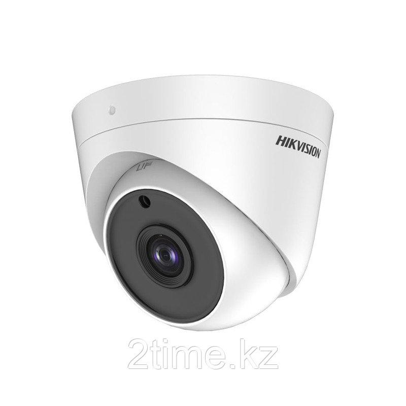 Hikvision DS-2CE56H0T-ITPF (2,8 мм) HD TVI 5МП купольная видеокамера