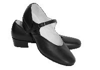Туфли народные кожа Вариант Цвет Черный Размер 29 Материал Кожа