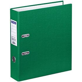 Папка-регистратор OfficeSpace, 70мм, бумвинил, зеленая
