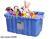 Ящик для игрушек на колесах Полимербыт 30100 (003) 600*400*300 мм