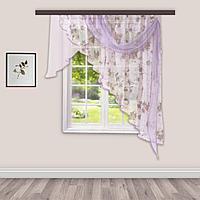 Комплект штор для кухни Иллюзия 300х150 см