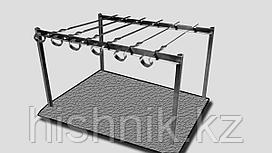 Таганок Пикник(сталь)+6шам.(570*11*1)