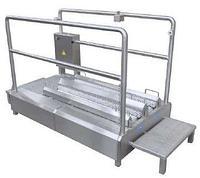 Проходная машина для чистки подошв и их боковой части 12.0010.12