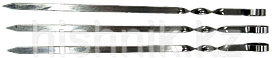 Шампур Пикник плоский 45см