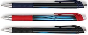 Ручка шариковая автомат Cello MAXRITER XS CLIC 0.7мм, фото 2