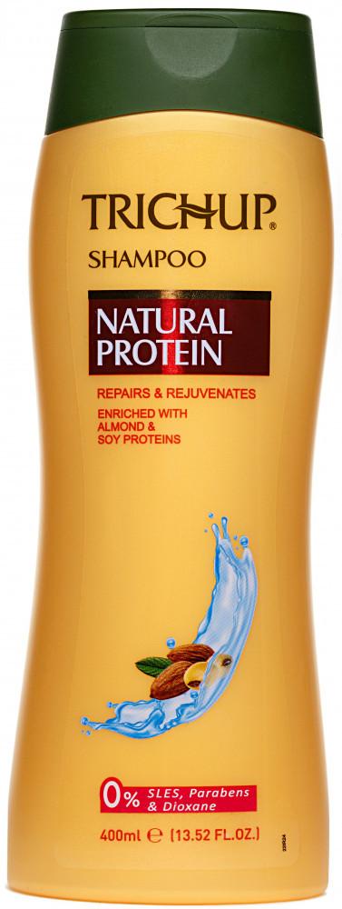 Шампунь для волос с растительным протеинам 400 мл