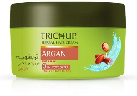 Крем для волос травяной с маслом арганы «Питание и защита»