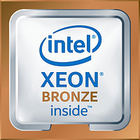 Серверный процессор HPE DL380 Gen10 Xeon Bronze 3106 873643-B21 (Intel, 8 ядер, 1.7 ГГц, 11 Мб)