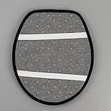 Набор ковриков для ванны и туалета «Плитка», 3 шт: 50×80, 50×40, 43×38 см, фото 4