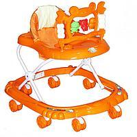 Ходунки BAMBOLA КРАБ (8 колес,игрушки,муз) 6 шт в кор.(67*60*48) ORANGE оранжевый