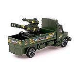 Грузовик инерционный «Военный автовоз» с пушкой, фото 3