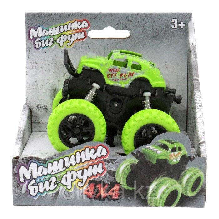 Машинка инерционная Funky Toys 4х4, цвет зелёный