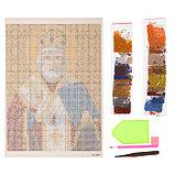 Алмазная мозаика «Святой Николай Чудотворец», 34 цвета, фото 2