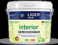 """Краска водоэмульсионная """"LIDER color"""" 101 25 кг (протирающаяся)"""