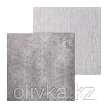 Фотофон двусторонний «Холст‒бетон», 45 × 45 см, переплётный картон, 980 г/м