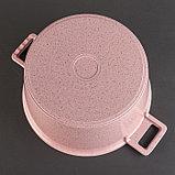 Набор посуды «Пинк», 4 предмета: кастрюли 8/6 л ,сковорода 30×4,5 см, ковш 2 л, набор приборов, фото 7