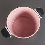 Набор посуды «Пинк», 4 предмета: кастрюли 8/6 л ,сковорода 30×4,5 см, ковш 2 л, набор приборов, фото 9