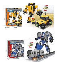 Немного помятая!!! 525 Трансформер робот Mini robot form разные виды 18*16, фото 1