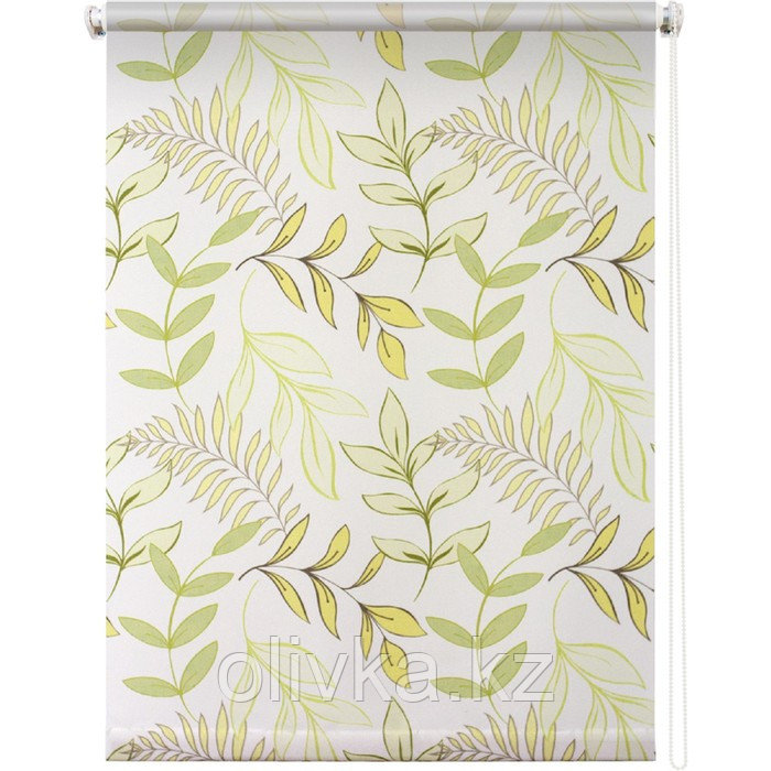 Рулонная штора «Купава», 120 х 175 см, цвет белый