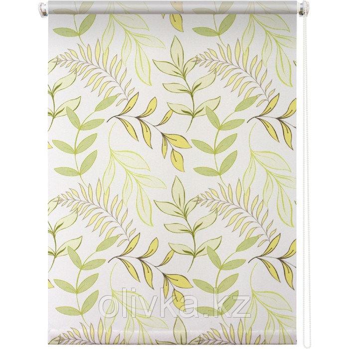 Рулонная штора «Купава», 180 х 175 см, цвет белый
