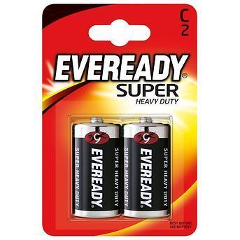 Элемент питания R14-C Eveready SHD (2 штуки)