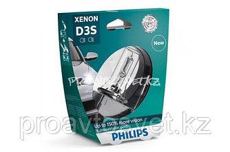Ксенон PHILIPS D3S X-Treme Vision +150% 85V 35W 42403XV2S1