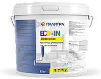 Краска водоэмульсионная ПАЛИТРА 25 кг (протирающаяся)
