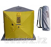 Палатка для зимней рыбалки ТОНАР HELIOS КУБ - 1,8, желтый-серый