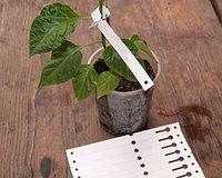 Садовые бирки этикетки Polyplast 57мм*298мм (250 шт)