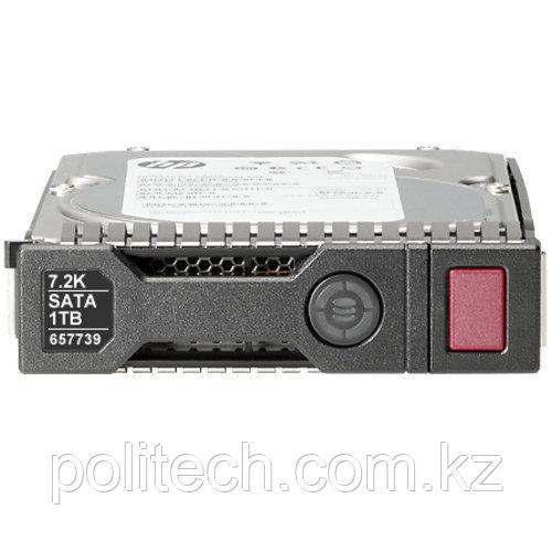 Серверный жесткий диск HPE 1TB SATA 6G 7.2K LFF 861691-B21 (3,5 LFF, 1 Тб, SATA)