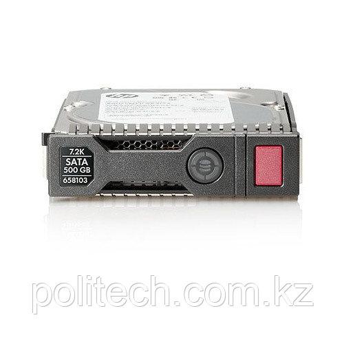 Серверный жесткий диск HPE 500GB 7.2k LFF NHP MDL SATA 3.5 HDD 458941-B21 (3,5 LFF, 500 Гб, SATA)