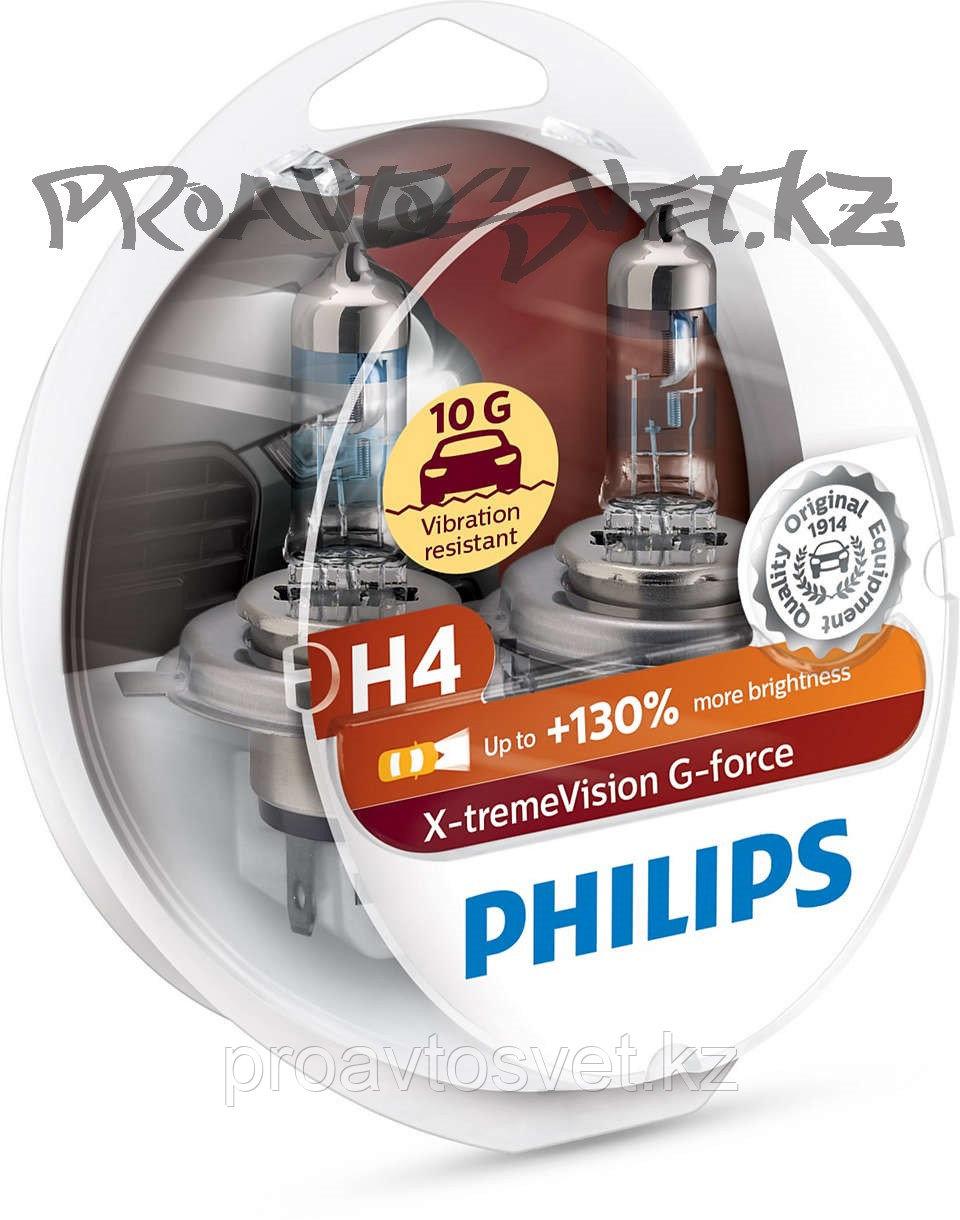 Галоген PHILIPS H4 XVG +130% 12V 60/55W 12342XVGS2