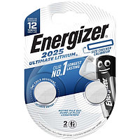 Элемент питания Energizer Ultimate CR2025 (2 штуки)