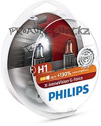 Галоген PHILIPS H1 XVG +130% 12V 55W 12258XVGS2
