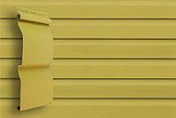 Сайдинг 3,0 Grand Line D4 (Slim) корабельный брус. Имитация деревянной доски меньшей ширины, кремовый