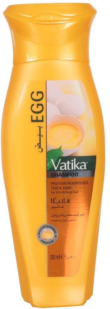 Шампунь для волос с яичным протеином 400 мл