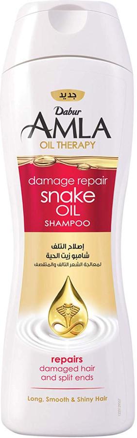 Шампунь для секущихся волос восстанавливающий со змеиным маслом 400 мл