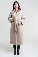 Шикарное пальто с норкой