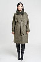 Пальто женское Loretta с норковым воротником