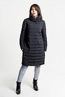 Классическое легкое демисезонное пальто стеганка