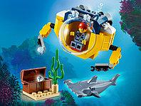 LEGO City 60263 Океан: мини-подлодка, конструктор ЛЕГО