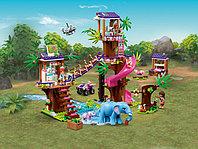 LEGO Friends 41424 Джунгли: штаб спасателей, конструктор ЛЕГО