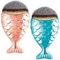 Кисточка щетка для макияжа рыбка