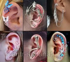 Кафы, сережки для ушей
