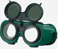 Очки для газосварщика квадратные-круглые/откидные