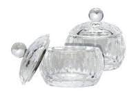 Стаканчик стеклянный c крышечкой для ликвида