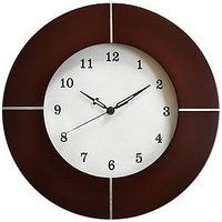 Часы настенные, Коричневый, -, 2203 dark
