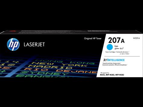 HP W2211A Картридж лазерный HP 207A черный ресурс 1250 стр.